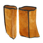 1 Pair Welder Spats Welding Shoe Cover HEAT RESISTANT For Welders Cowhide