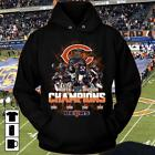 2018 NFC North Division Champions Chicago Bears NFL Football Hoodie Men S-5XL on eBay