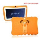 """2019 New 7"""" Quad Core Android 4.4 Tablet Wifi Camera Bundle Case for Kids Gift"""