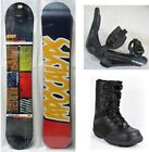 "NEW APOCALYPS ""LEGION BEPO"" SNOWBOARD, BINDINGS, BOOTS PACKAGE - 149cm"