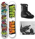 """NEW VIVE """"TAG"""" SNOWBOARD, BINDINGS, BOOTS PACKAGE - 151cm"""