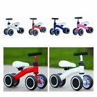 '4 Wheels Kids Toddler Balance Running Bike Boy Girl Learning Training Bicycle