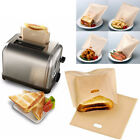 Carry-on Toaster Bags Reusable Non-stick Baked Toast Bread Bags for Sandwiches