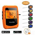Thermometer Meat Bluetooth Grill Wireless Remote Digital BBQ 6 Probes Kitchen
