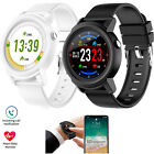 Men Women Bluetooth Smart Watch Heart Rate Monitor Watch For Android Phones IOS