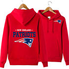 New England Patriots Sweatshirts Hooded Hoodies Pullover Fan NFL Team Men Women on eBay
