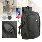 Anti-theft Men Women USB Charge Port Laptop Notebook Backpack School Travel Bags