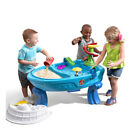 Step2 Fiesta Cruise Sand & Water Play Activity Table Toy w/ 10 Accessory Pieces