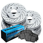 Fit+2008%2D2011+Audi+S5%2C+S4+Front+Rear+PSport+Drilled+Brake+Rotors%2BCeramic+Pads