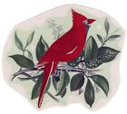 Christmas Winter Cardinal Red Bird Select-A-Size Waterslide Ceramic Decals Xx image