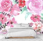 3D Red Flower Pattern 23 Wall Paper Exclusive MXY Wallpaper Mural Decal Indoor