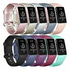 For Fitbit Charge 3  Replacement Silicone Bracelet Watch Band