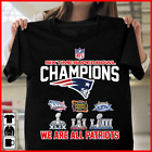 New England Patriots 6 Time Super Bowl Champions NFL Graphic T-Shirt Men's Women on eBay