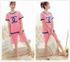 Hot C Shaped Maternity Sleepwear Set Women's Nightwear Mum Wear Pajama Sets M-XL