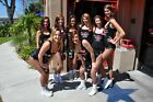 WINGHOUSE HOOTERS sexy busty babes posing ~ 4x6 GLOSSY PHOTO amateur candid #P7