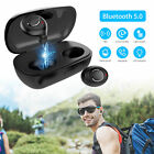 Mini True Wireless Earbuds Headset Bluetooth 5.0 HIFI In Ear Stereo Headphones