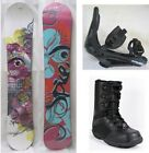 """NEW SPICE """"SAPPHIRE"""" SNOWBOARD, BINDINGS, BOOTS PACKAGE - 155cm"""