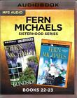 Fern Michaels Sisterhood Series Books 22-23 Blindsided Kiss & Tell MP3 AudioBook