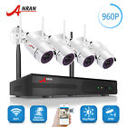 1080P Wireless Home Security System 8CH NVR 4 Night Vision Camera IP66 ANRAN