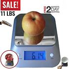 Electrical Kitchen Scale 11lb/5kg Food Scale Grams and Ounces Tare Function
