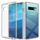 For Samsung Galaxy S10 S10 Plus S10e Clear Soft Protective Gel Case TPU Silicone