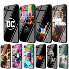 DC Doom Patrol JL Tempered Glass Case for iPhone 8 7 6 6S Plus 5S X XS Max XR