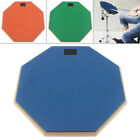 12 inch Silent Rubber Wooden Stand Adjustable Dumb Drum Practice Pad with Stand