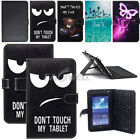 """US For RCA Voyager 7"""" 8"""" 10.1"""" Tablet Leather Case with Micro USB Keyboard Cover"""