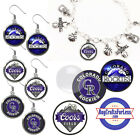 FREE DESIGN > COLORADO ROCKIES -Earrings, Pendant, Bracelet, Charm <FAST SHIP> on Ebay