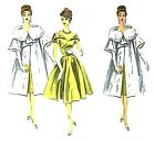 Внешний вид - 438 Opera Dress and Coat Pattern for Fashion Dolls