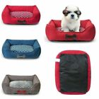 Luxury Plush Series Pet Bed House Soft Nest Mat Pad Cat Dog Charcoal Gray Large