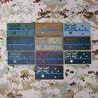 The thin blue The Australian flag Tactical Military Morale 3D PVC Patch