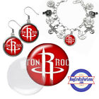 FREE DESIGN > HOUSTON ROCKETS -Earrings, Pendant, Bracelet, Charm <FAST SHIP> on eBay