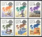 Hungary 1983 Communications/Space/Radio/Newspapers/Telecomms/Phone 6v set n34707