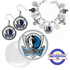 FREE DESIGN > DALLAS MAVERICKS -Earrings, Pendant, Bracelet, Charm <FAST SHIP> on eBay