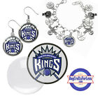 FREE DESIGN > SACRAMENTO KINGS -Earrings, Pendant, Bracelet, Charm <FAST SHIP> on eBay