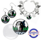 FREE DESIGN > MINNESOTA TIMBERWOLVES -Earrings, Pendant, Bracelet <FAST SHIP> on eBay