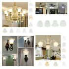 Glass Hanging Light Lampshade Ceiling Fan Light Shade for Bedroom Living Room