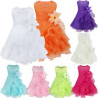 Flower Girl Dress Formal Wedding Pageant Princess Prom Birthday Party Dress Gown
