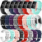 For Fitbit Charge 3 Sports Replacement Slim Rubber Watch Band Wristband Strap image