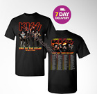 KISS 2019 'End of the Road' World Tour concert T-shirt all size shirt Men. image