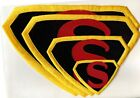 Superman 1942 Japoteurs Embroidered Chest Logo Patch - choice of sizes image