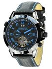 "Calvaneo 1583 Astonia Black Color Concept Edition "" Blue Pole"" Automatik Caliber"