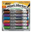 Bic Corporation GELIPP121AST Low Odor & Bold Writing Pen Style Dry Erase Mark...