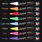 3/8/12 PCS Chalk Pens Marker Whiteboeard Wipe Clean Magnetic Dry Erase Markers