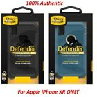 Authentic New Otterbox Defender Series Case & Belt Clip For Apple iPhone XR ONLY