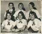 1966 Press Photo New student council officers at Archbishop Blenk High School