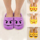 Men Women Emoji Slippers Cartoon Plush Stuffed Winter Indoor Slippers Fashion
