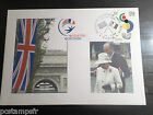 FDC FRANCE PREMIER DAY 6.4.2004, TP 3657, AGREEMENT CORDIAL 4 GB FLAGS, FLAGS