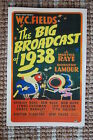 The Big Broadcast of 1938 Lobby Card Movie Poster W.C. Fields Martha Rate